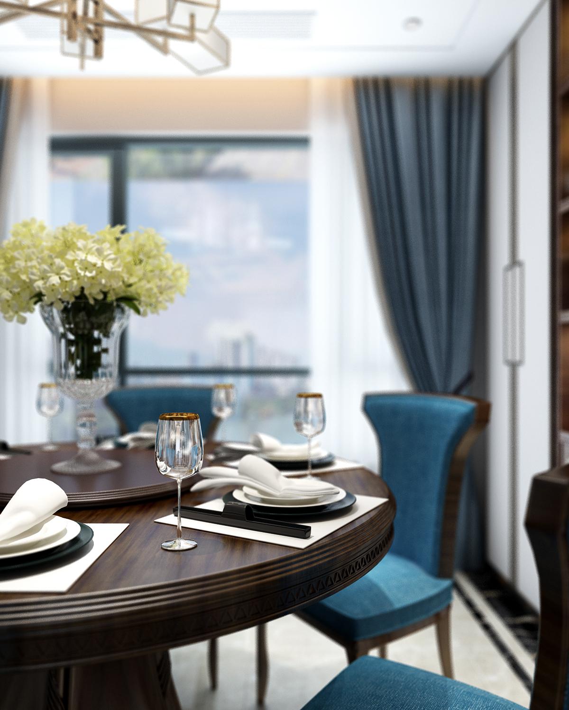 简约 中式 三居 客厅 卧室 厨房 王规福 胡永谋 中建协筑图片来自中建协筑装饰在中建协筑装饰中式空间设计的分享