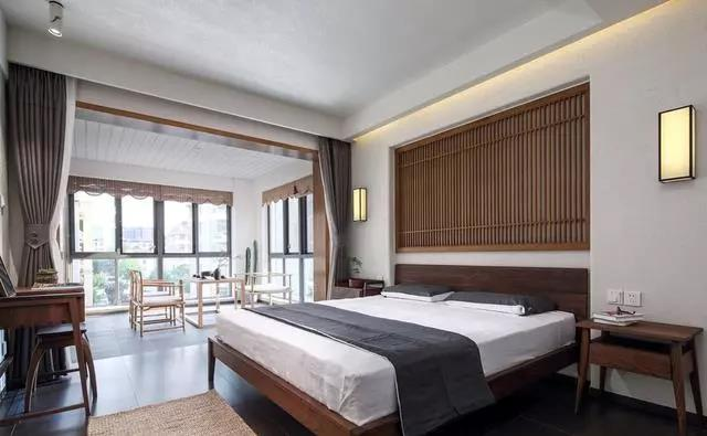 中式 国宾壹号 大业美家 家装设计 卧室图片来自大业美家 家居装饰在天山国宾装修146简约中式3居的分享