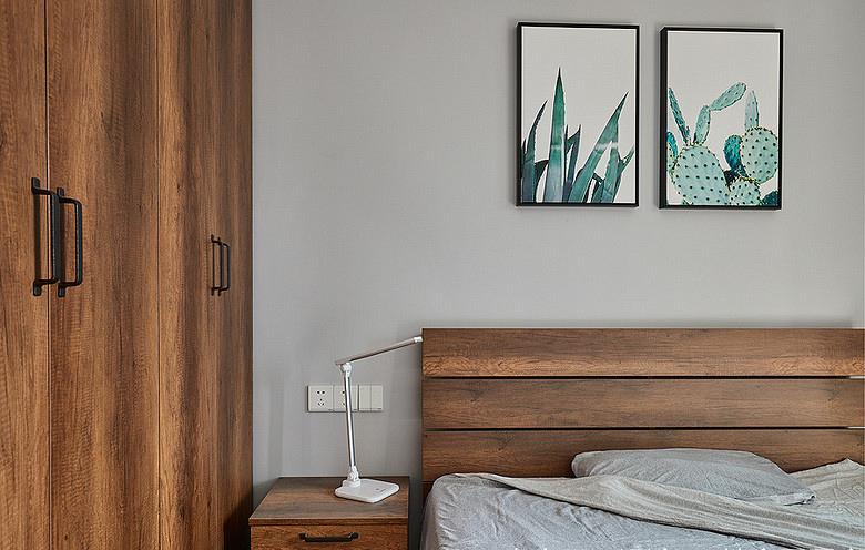 卧室图片来自家装大管家在90平现代简约空间 气质优雅随性的分享