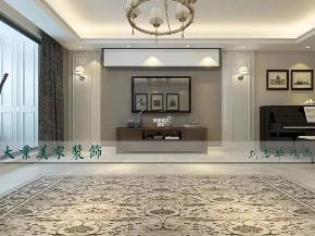 美式 玄关图片来自大业美家 家居装饰在现代美式风格186㎡装修案例的分享