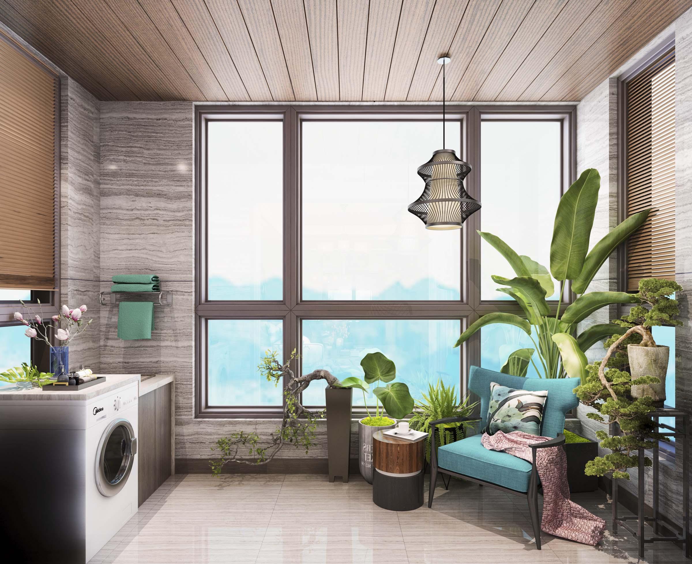 三居 阳台图片来自云南俊雅装饰工程有限公司在枫林盛景的分享