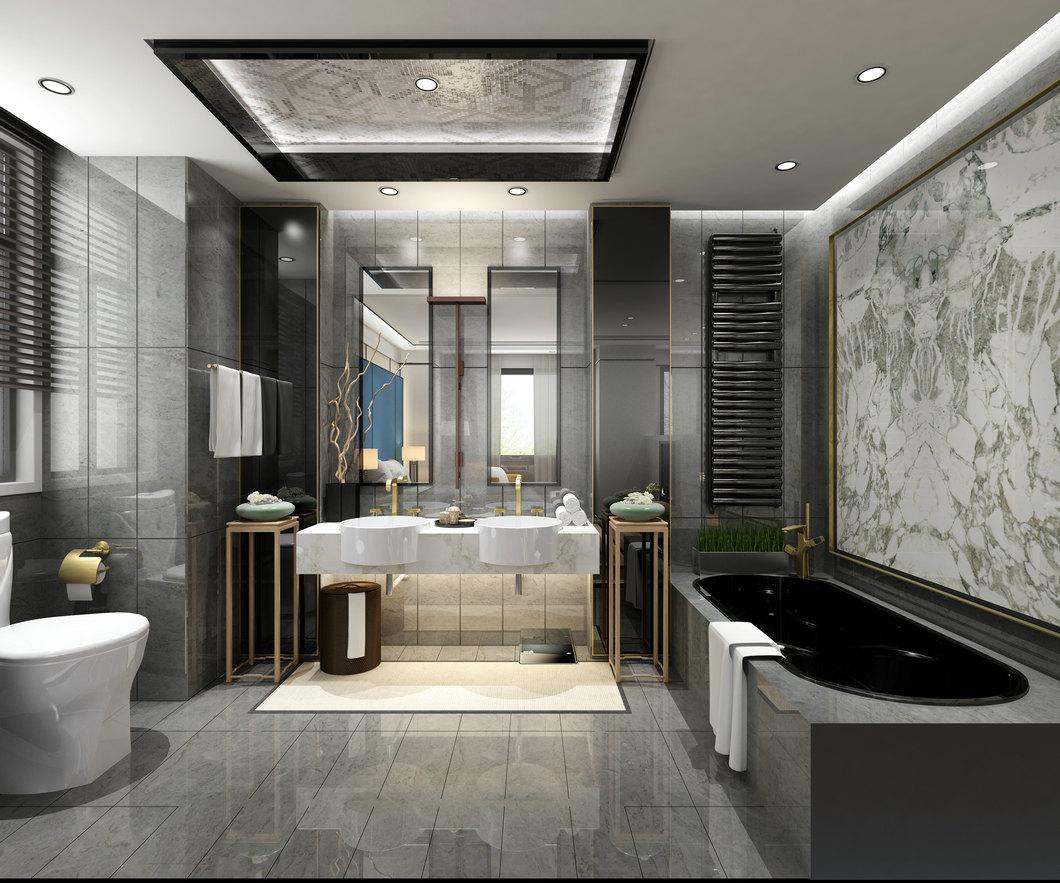 三居 卫生间图片来自云南俊雅装饰工程有限公司在枫林盛景的分享