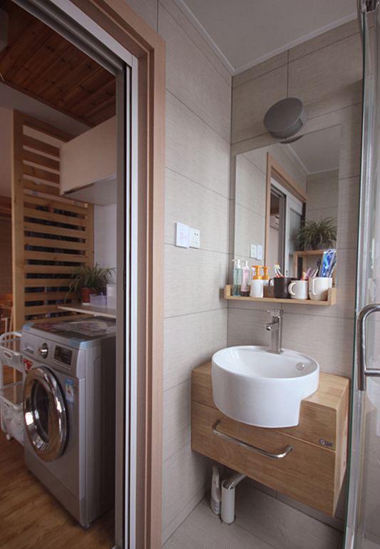 卫生间图片来自武汉申阳红室内设计在南湖世家的分享