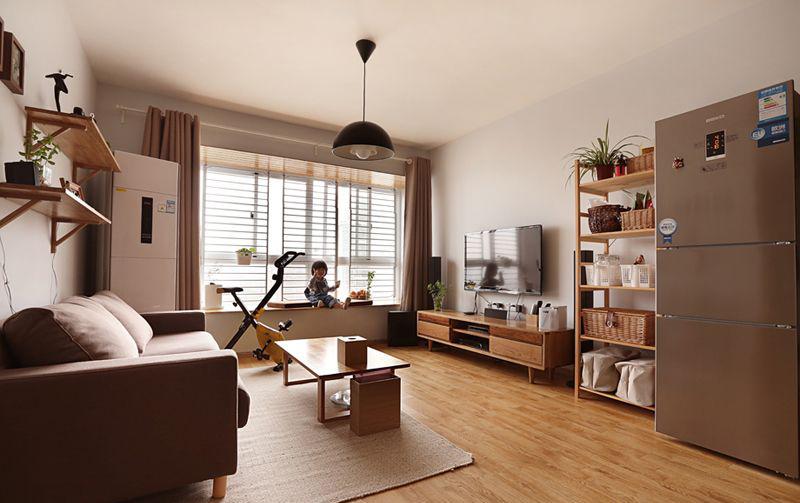 客厅图片来自武汉申阳红室内设计在南湖世家的分享