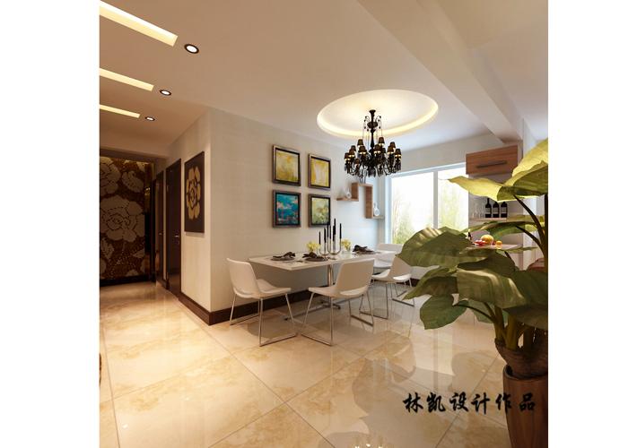 三居 紫提东郡 现代风格 客厅图片来自百家设计小刘在紫提东郡130平现代风格半包5.5万的分享