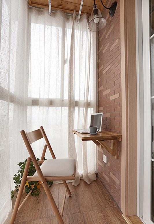 阳台图片来自武汉申阳红室内设计在南湖世家的分享