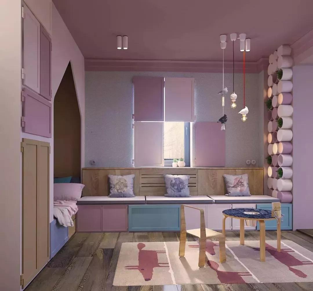 简约 混搭 九龙坡 石坪桥 鹏友百年 私人订制 全案设计 卧室图片来自鹏友百年装饰在这种配色,不是每个设计师都敢用的分享