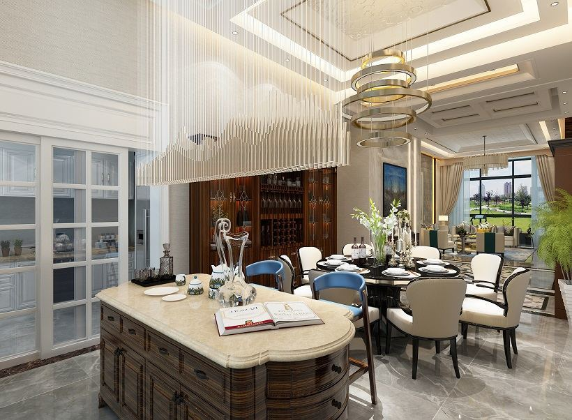 现代 装修风格 方案案例 厨房图片来自大业美家 家居装饰在石家庄装修奥北公元现代风格的分享