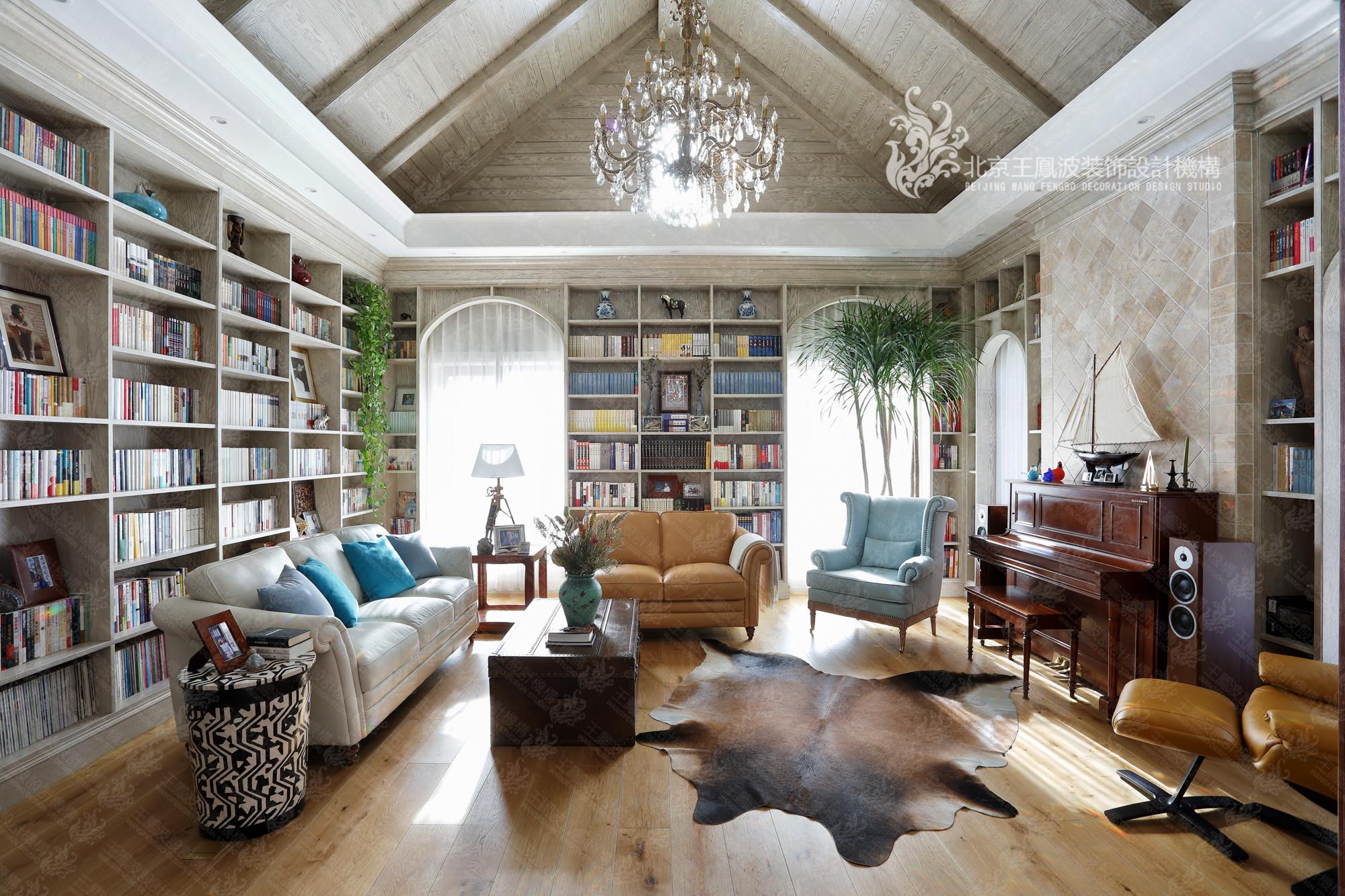客厅图片来自王凤波设计机构在春风十里不如你的分享