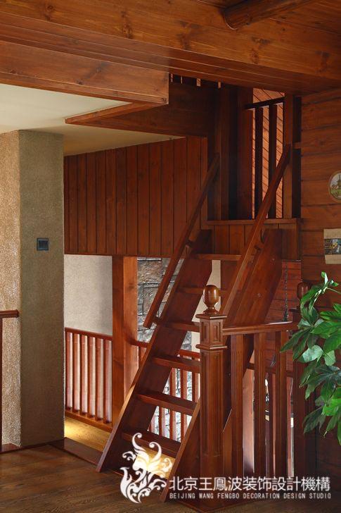 楼梯图片来自王凤波设计机构在运河上的院子的分享