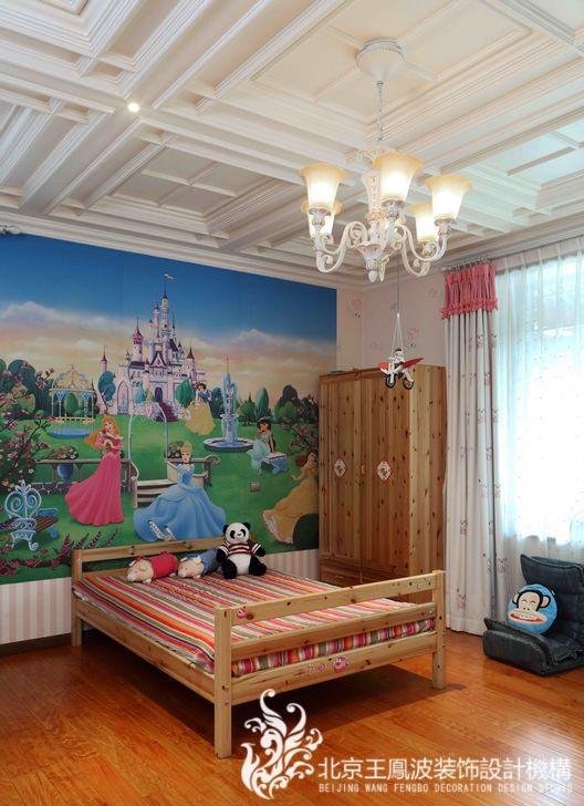 儿童房图片来自王凤波设计机构在中式别墅设计:晴翠园的分享