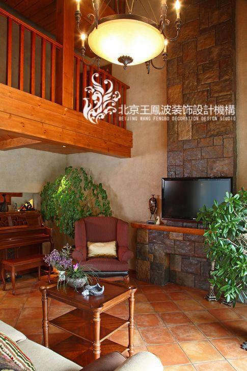 客厅图片来自王凤波设计机构在运河上的院子的分享