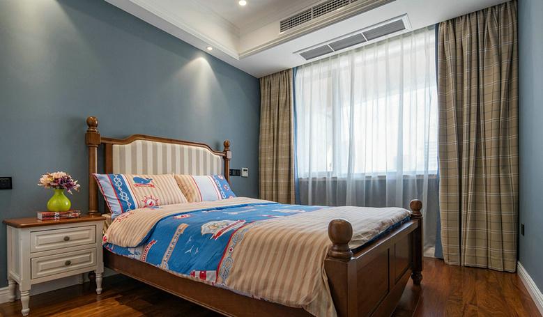 儿童房图片来自家装大管家在温馨舒适 120平美式摩登混搭3居的分享
