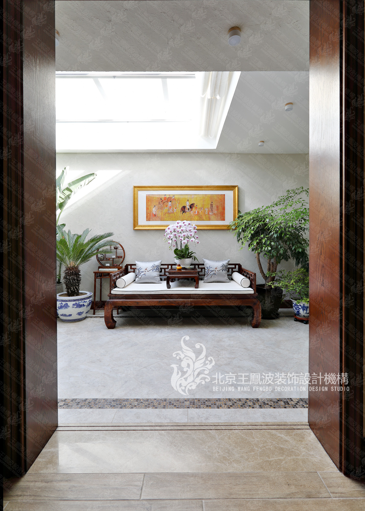别墅 美式风格 600平米 阳台图片来自王凤波设计机构在春风十里不如你的分享