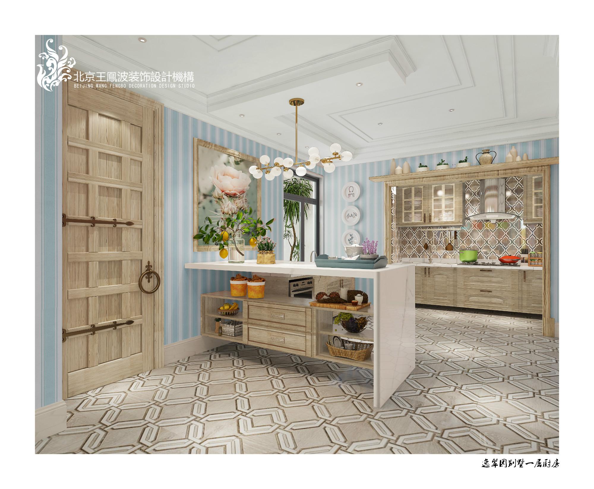 厨房图片来自王凤波设计机构在逸翠园别墅,美宅如画的分享