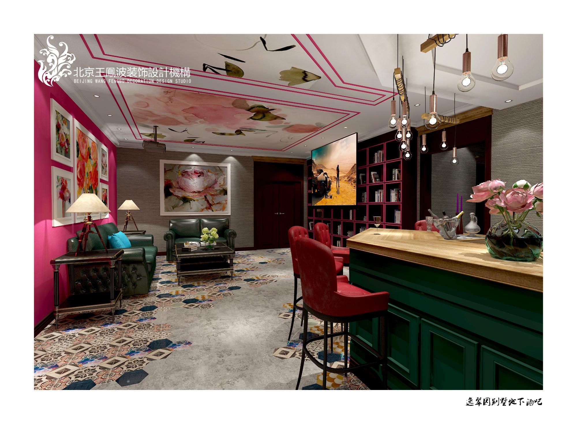 其他图片来自王凤波设计机构在逸翠园别墅,美宅如画的分享