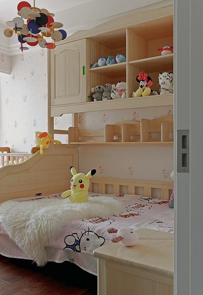 儿童房图片来自家装大管家在浓郁鲜明 109平美式现代混搭3居的分享