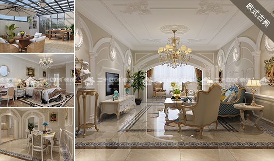 欧式 古典 混搭 欧式古典 白领 小资 收纳 未来家 定制家装 户型图图片来自二十四城装饰(集团)昆明公司在东鸣佳苑 欧式古典的分享