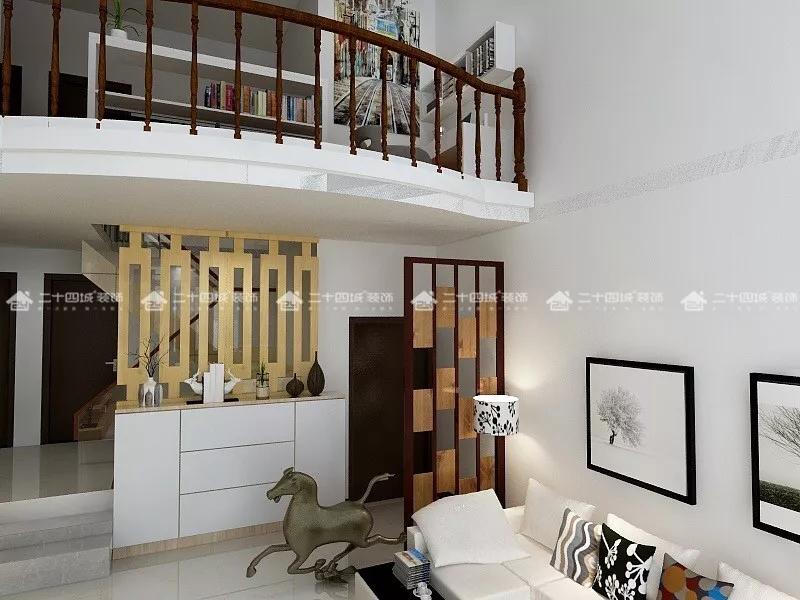 欧式 白领 收纳 80后 小资 旧房改造 简约 混搭 文艺青年 楼梯图片来自二十四城装饰(集团)昆明公司在恒水源  北欧的分享