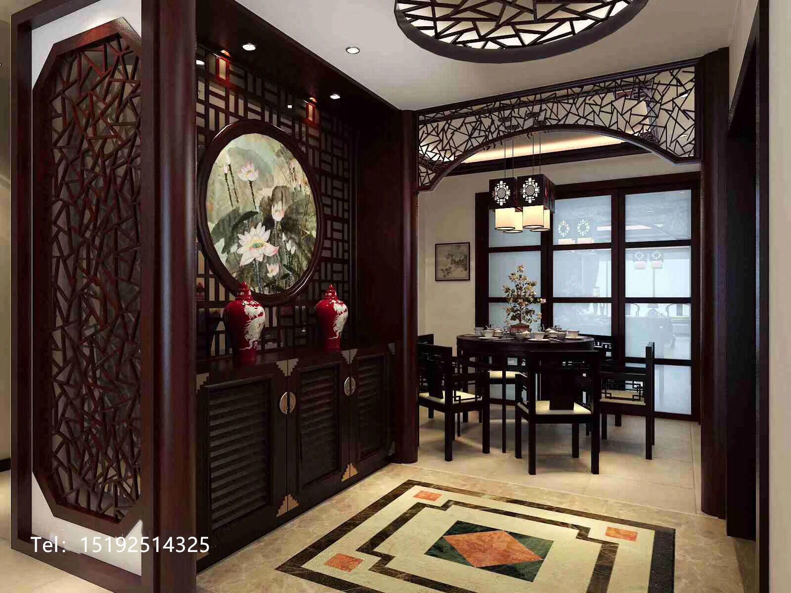 中式 青岛 装修 三居 餐厅图片来自快乐彩在崂山区金领世家传统中式风格的分享
