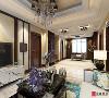 新中式客厅角度二