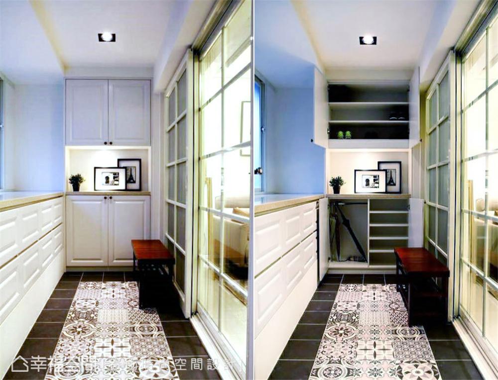 旧房改造 装修设计 现代风格 玄关图片来自幸福空间在109平,实用机能宅!翻转旧空间的分享