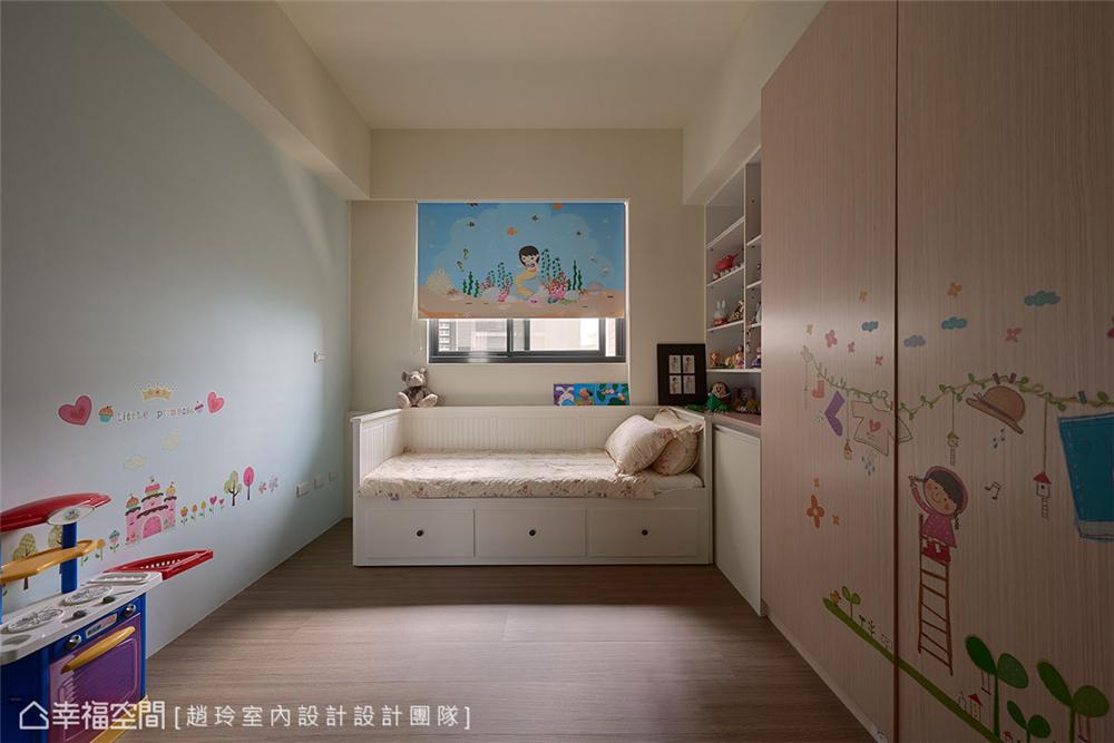 装修设计 装修完成 新古典风格 小资 儿童房图片来自幸福空间在132平,三款色!优雅新古典温度的分享