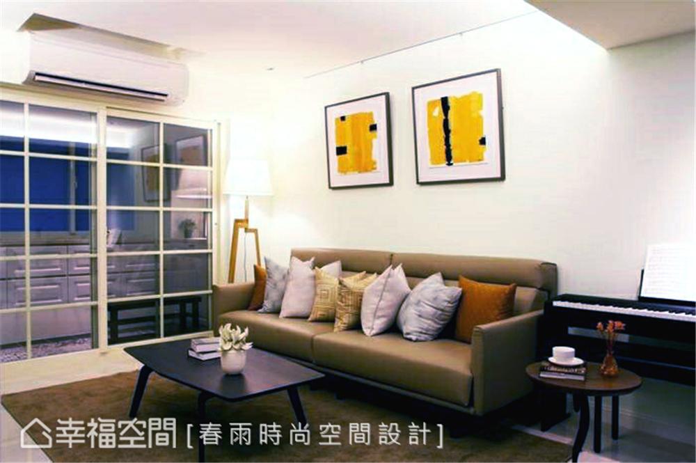 旧房改造 装修设计 现代风格 客厅图片来自幸福空间在109平,实用机能宅!翻转旧空间的分享