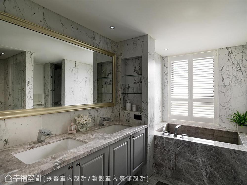 现代风格 装修设计 装修完成 卫生间图片来自幸福空间在182平,582魔法  黑白灰个性宅的分享