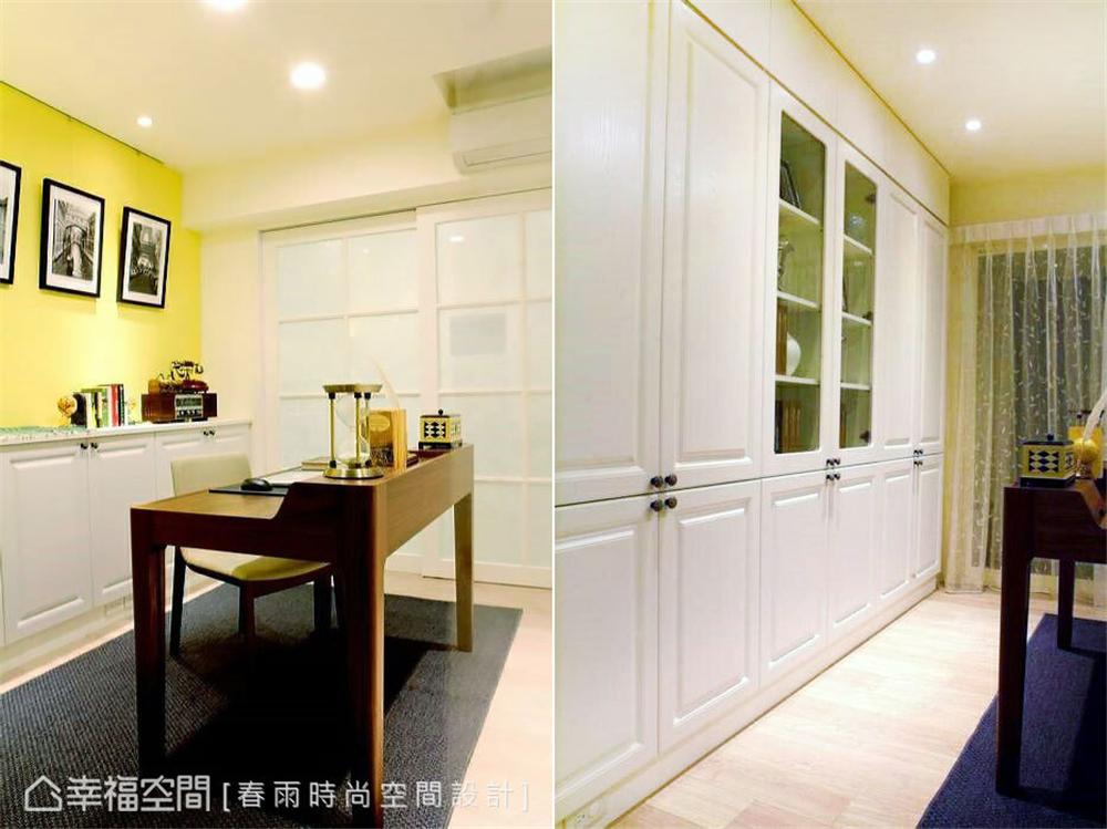 旧房改造 装修设计 现代风格 书房图片来自幸福空间在109平,实用机能宅!翻转旧空间的分享