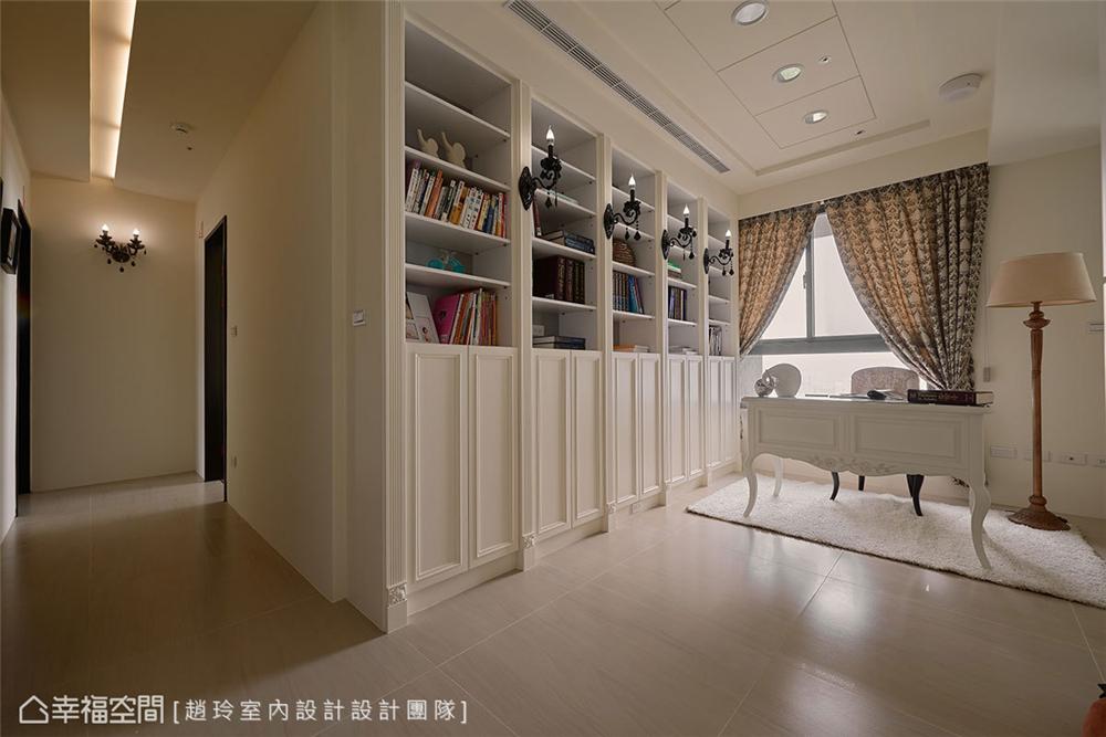 装修设计 装修完成 新古典风格 小资 其他图片来自幸福空间在132平,三款色!优雅新古典温度的分享