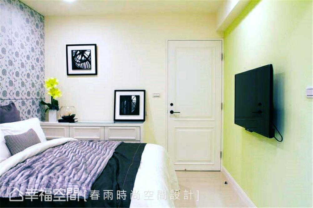 旧房改造 装修设计 现代风格 卧室图片来自幸福空间在109平,实用机能宅!翻转旧空间的分享