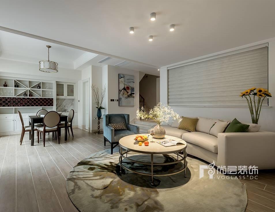 别墅 设计 实景 案例 现代美式风 地下室图片来自无锡别墅设计s在仁恒观棠别墅装修470m²的分享