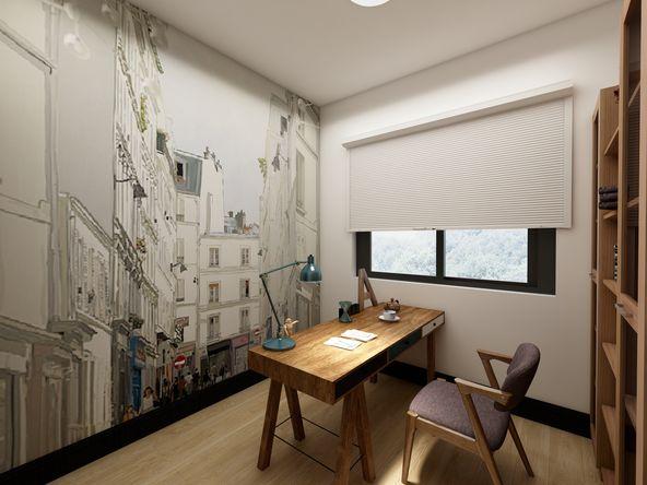 混搭装修 三居室装修 装修风格 装修设计图片来自今朝芳子在华远枫悦125平混搭装修风格的分享