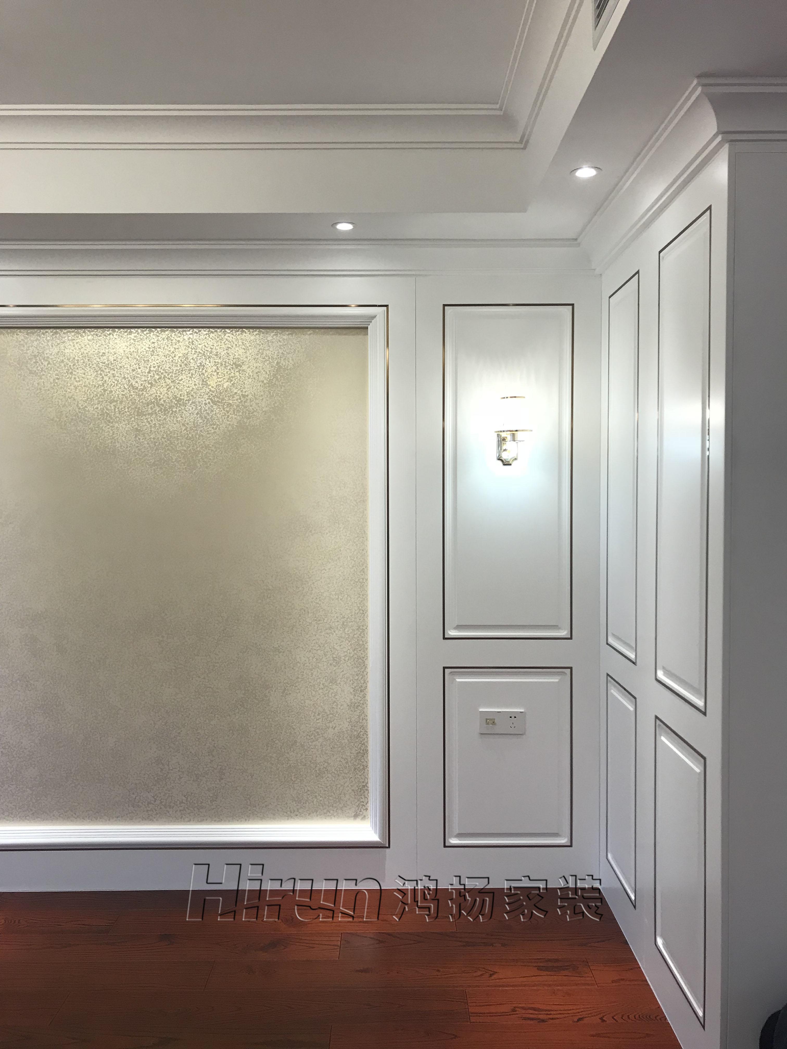 简约 欧式 混搭 收纳 白领 80后 小资 客厅图片来自鸿扬家装武汉分公司在东湖楚世家白色欧风的分享