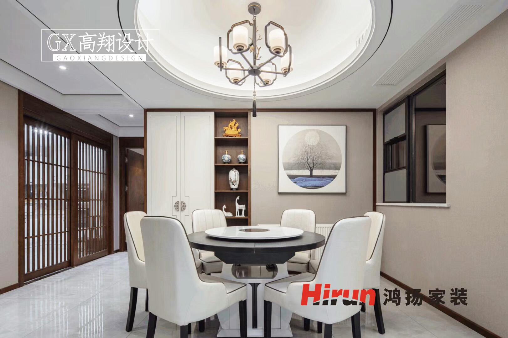 简约 三居 白领 收纳 80后 餐厅图片来自鸿扬家装武汉分公司在汉口城市广场130平-鸿扬家装的分享