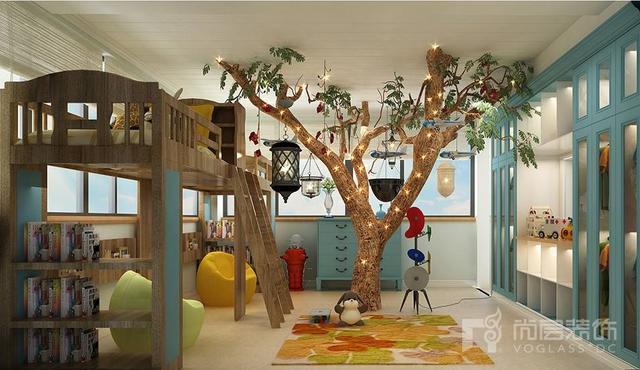 别墅 设计 实景 案例 儿童室图片来自无锡别墅设计s在都市田园生活的分享