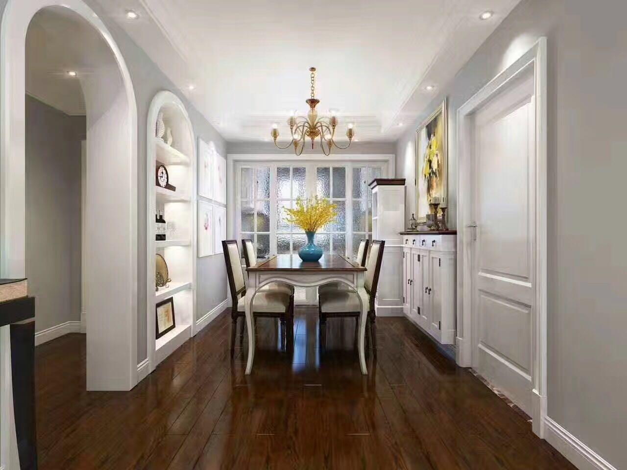 欧式 简约 田园 混搭 二居 三居 别墅 客厅 卧室图片来自方林网销13322443562在沈阳装修公司哪家好的分享