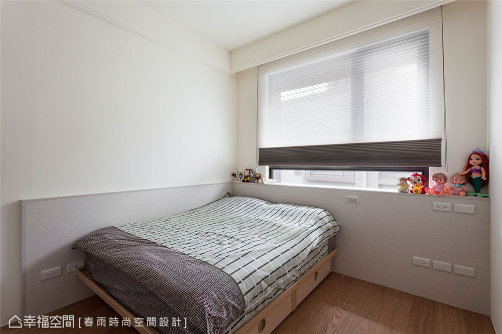 装修设计 装修完成 现代风格 儿童房图片来自幸福空间在149平,异材质搭接 现代都会宅的分享