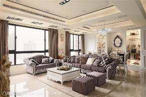 装修设计 装修完成 新古典 小资 客厅图片来自幸福空间在198平,新古典 咀嚼品味居家殿堂的分享