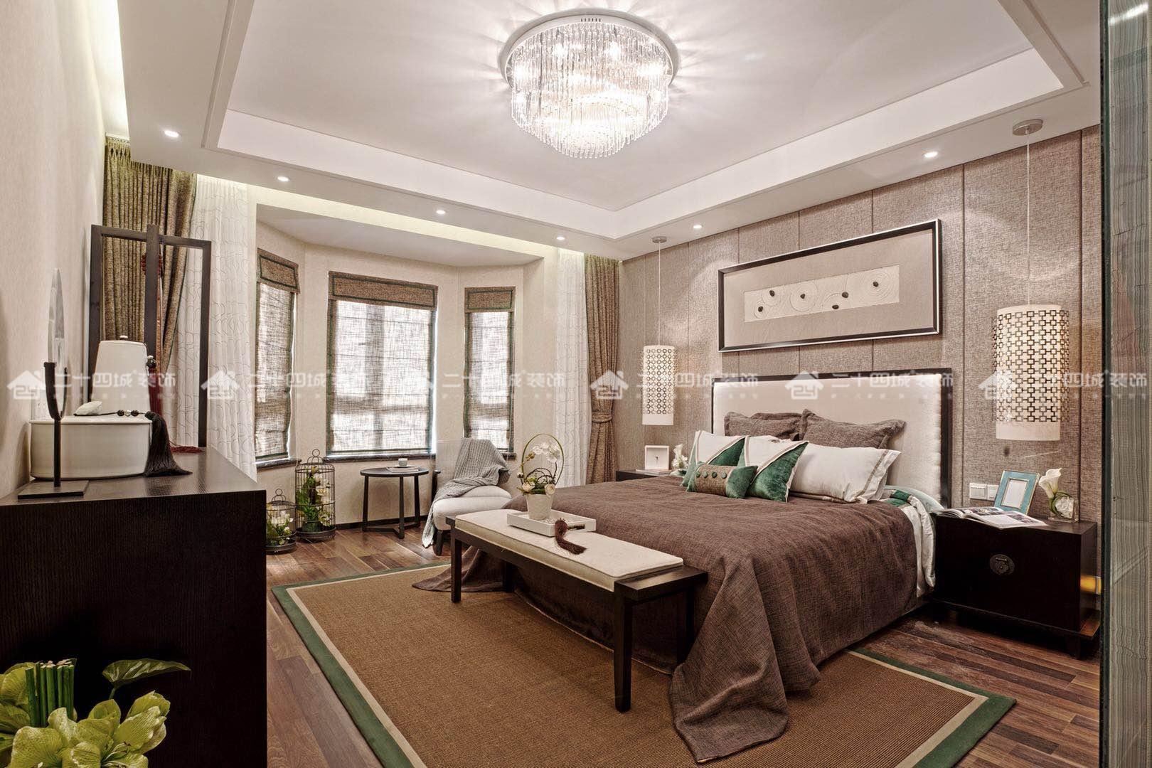 混搭 收纳 80后 高富帅 白富美 梦想家 未来家 中式 欧式 卧室图片来自二十四城装饰(集团)昆明公司在华夏御府 混搭风的分享