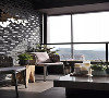 简单舒适的软装配合窗外山景,光看着就觉得很享受。