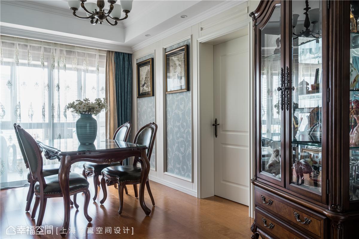 幸福空间 幸赢空间 装修设计 白领 收纳 80后 小资 室内设计 上海装修 餐厅图片来自幸福空间在106平,重拟空间比例享受好时光的分享