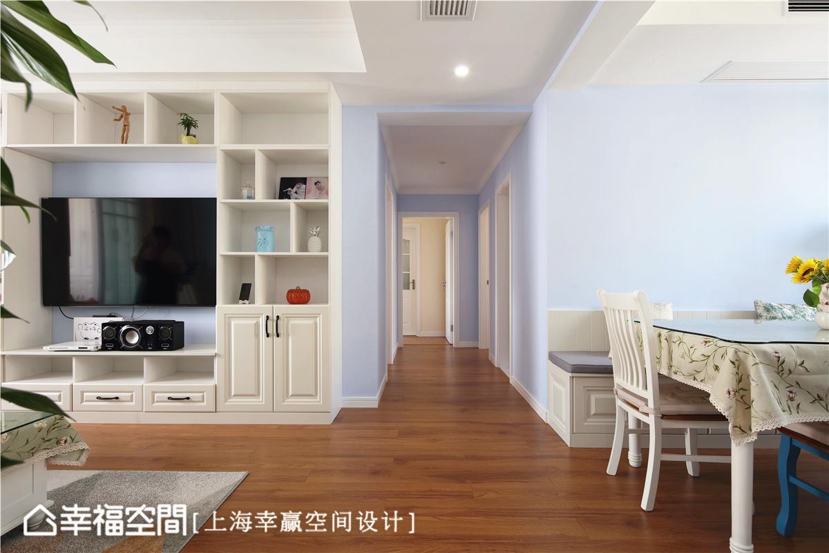 简美 幸赢空间 上海装修 80后 小资 收纳 白领 新房 其他图片来自幸福空间在86平,储物极限挑战!简约美式的分享