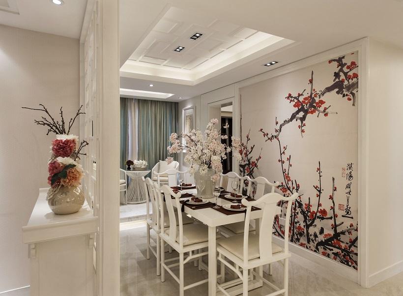 混搭 简约 设计案例 客厅 餐厅 卫生间 餐厅图片来自大业美家 家居装饰在石家庄林荫大院现代装修风格的分享