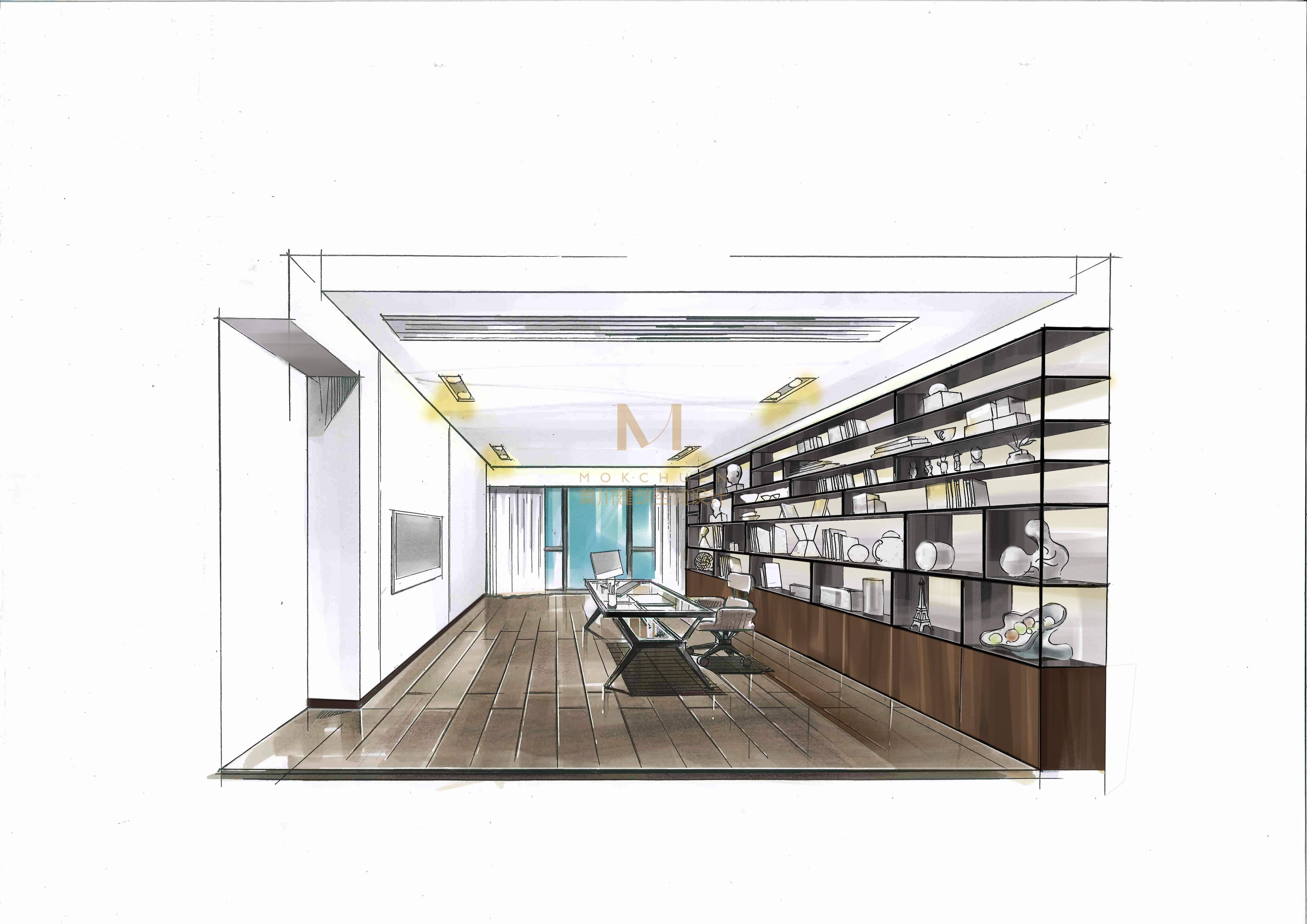 简约 现代图片来自莫川建筑空间设计在博林天瑞的分享