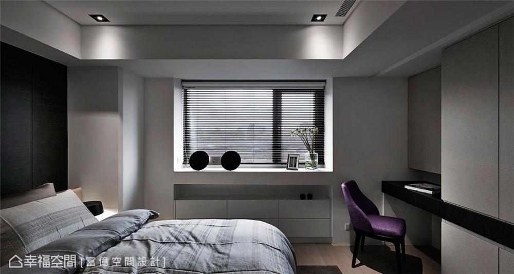 装修设计 装修完成 现代风格 卧室图片来自幸福空间在106平,木石共构 华丽转生的分享