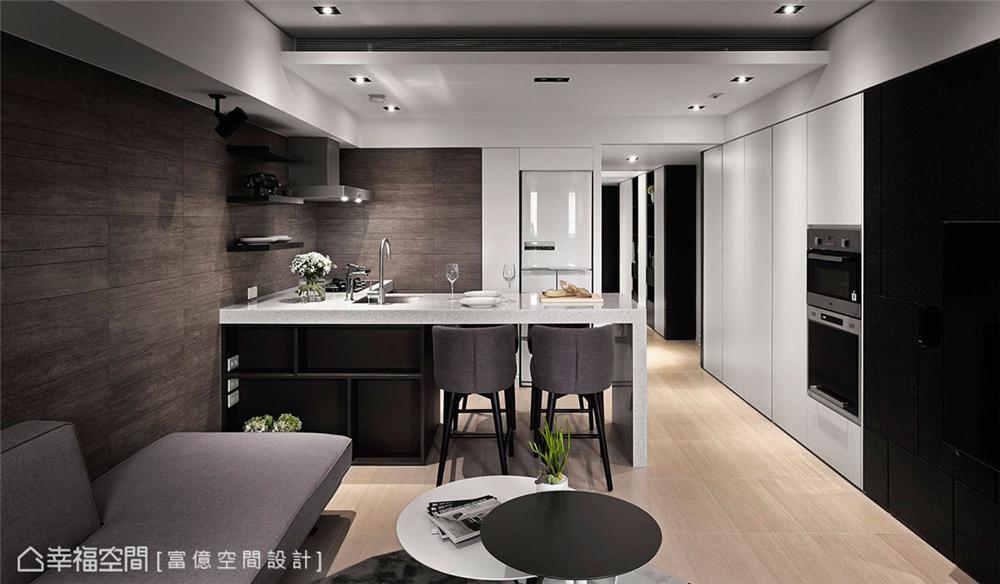装修设计 装修完成 现代风格 餐厅图片来自幸福空间在106平,木石共构 华丽转生的分享