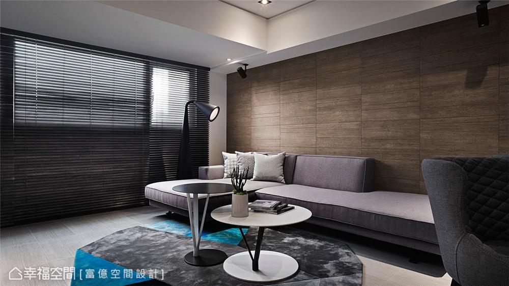 装修设计 装修完成 现代风格 客厅图片来自幸福空间在106平,木石共构 华丽转生的分享