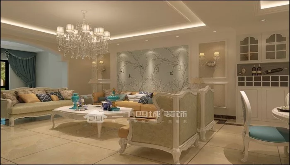 欧式 奢华 豪华 别墅 收纳 旧房改造 80后 高富帅 白富美 客厅图片来自二十四城装饰(集团)昆明公司在东盟森林 奢华欧式的分享